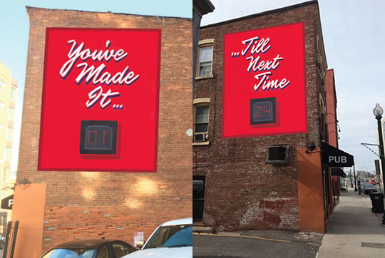 """You've Made It!"" mural"