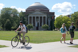 moving across the Quad