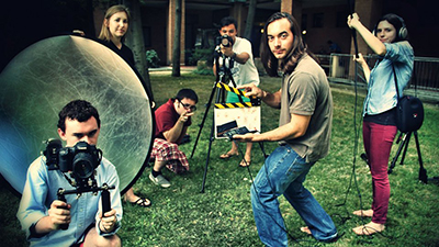 Syracuse students take part in a combined Film Production and Italian Studies program in Bologna, Italy.