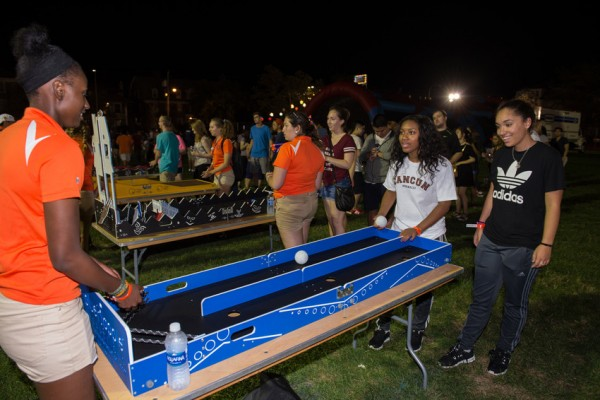 Syracuse Welcome 2016 Orange After Dark Kickoff