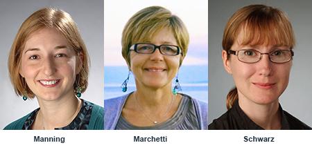 Lisa Manning, Cristina Marchetti, Jennifer Schwarz