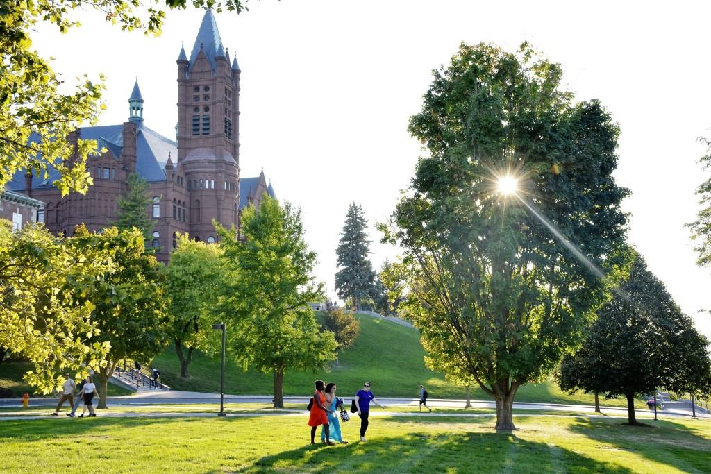 sun over campus