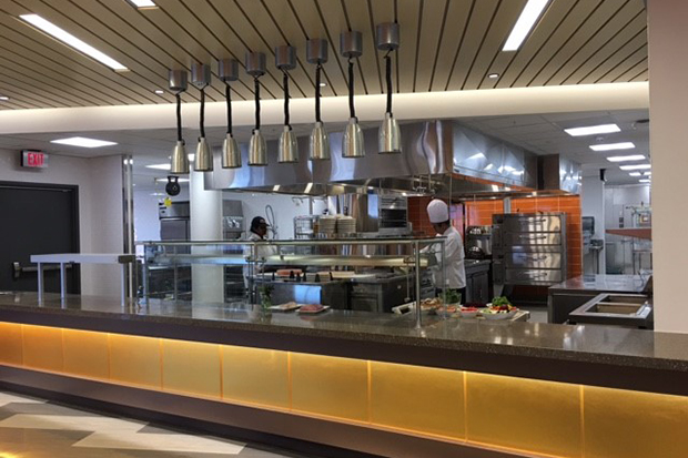 Falk College's new kitchens
