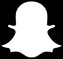 Snapchat's ghost logo