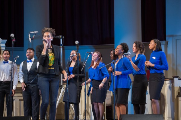 Family Weekend 2016 BCCE Black Celestial Choral Ensemble Concert