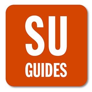 S U Guides mobile app icon.