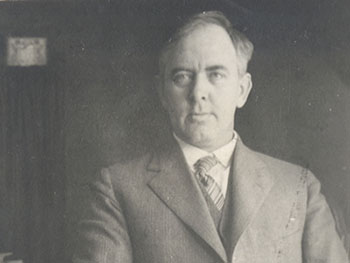 Charles Brightman, c. 1916 (Photo courtesy of Syracuse University Archives)
