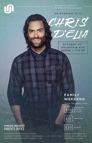 Chris D'Elia poster