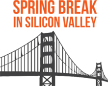 Spring break in Silicon Valley logo