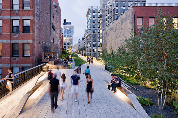 James Corner's acclaimed High Line in Manhattan
