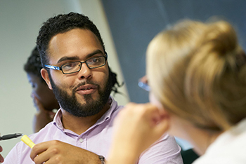 Faculty, staff and graduate students will be available at the open house to answer questions.