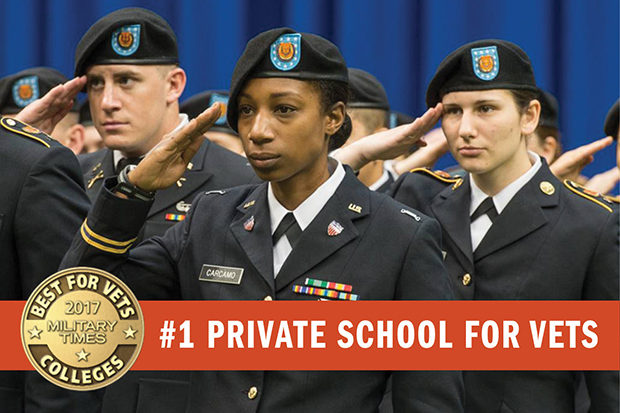 #1 Private School for Vets banner