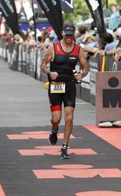 Fisher running marathon