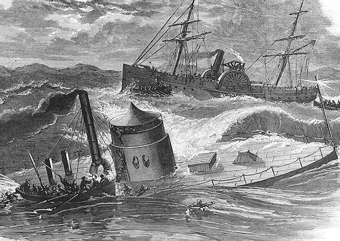sinking of the USS Monitor