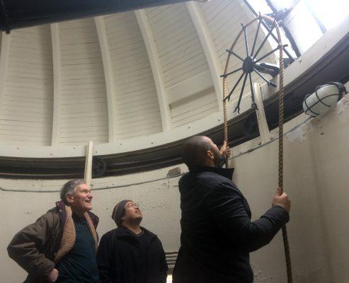 Inside Holden Observatory