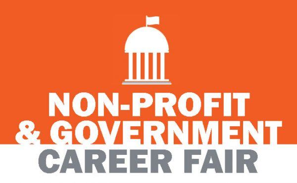 Nonprofit and Government Career Fair banner