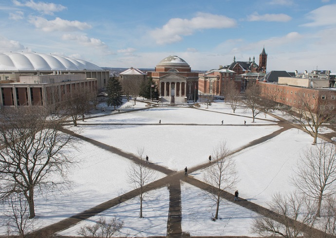 Winter Campus photo