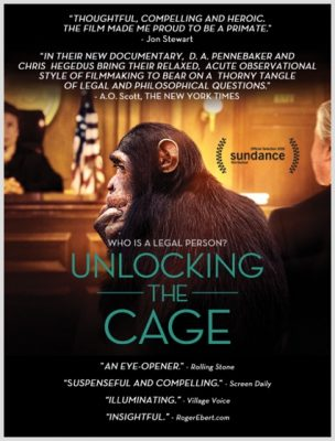 """Unlocking the Cage"" poster"