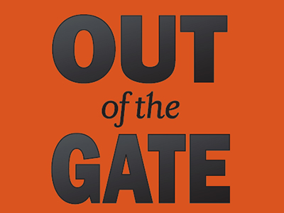 Out of the Gate banner