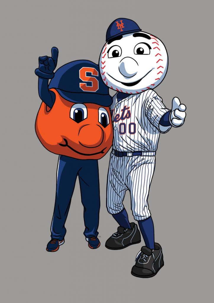 Otto and Mr. Met