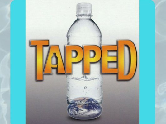 Tapped, water bottle