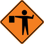 flagperson-sign