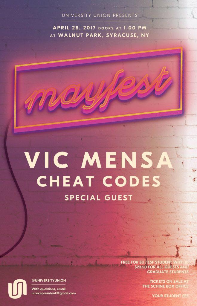 Mayfest poster