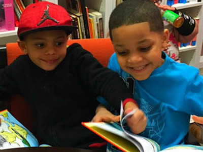 La Casita's dual-language literacy programs serve children ages 7-10.