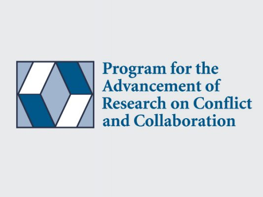 Program for the Advancement of Research on Conflict and Collaboration