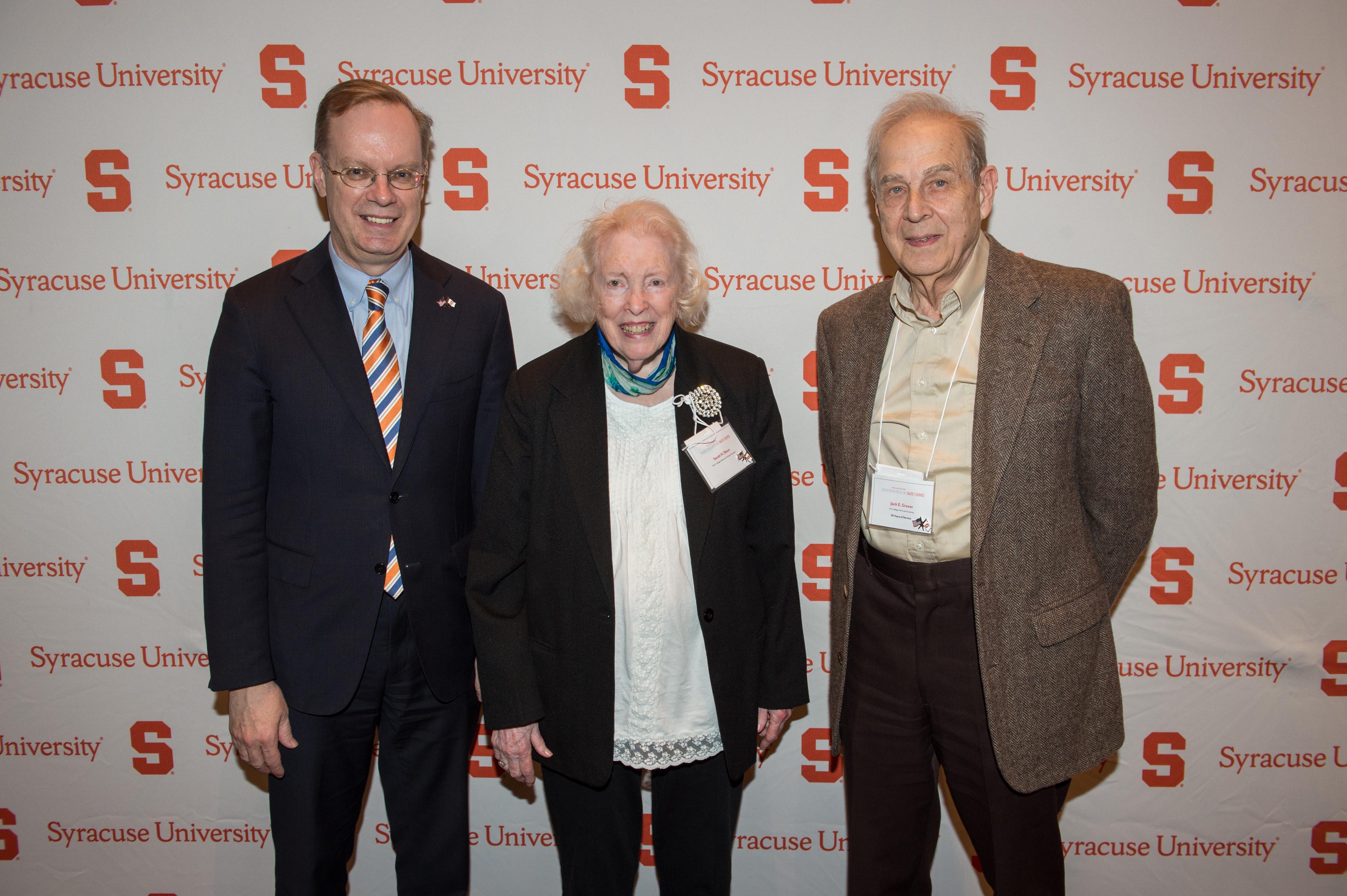 Chancellor Syverud, Sarah Short, Jack Graver
