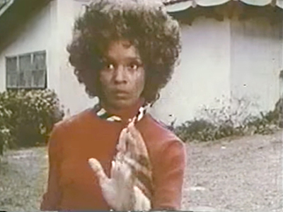 "Yvonne Buchanan, ""Polaris"" video still"