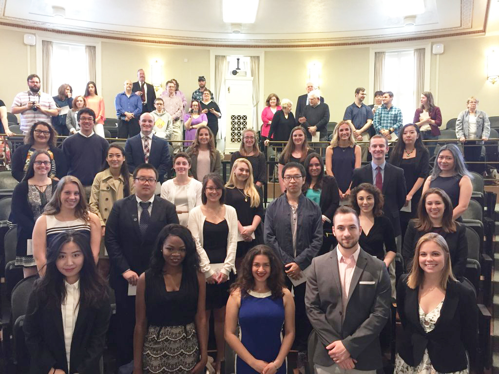 Phi Beta Kappa inductees