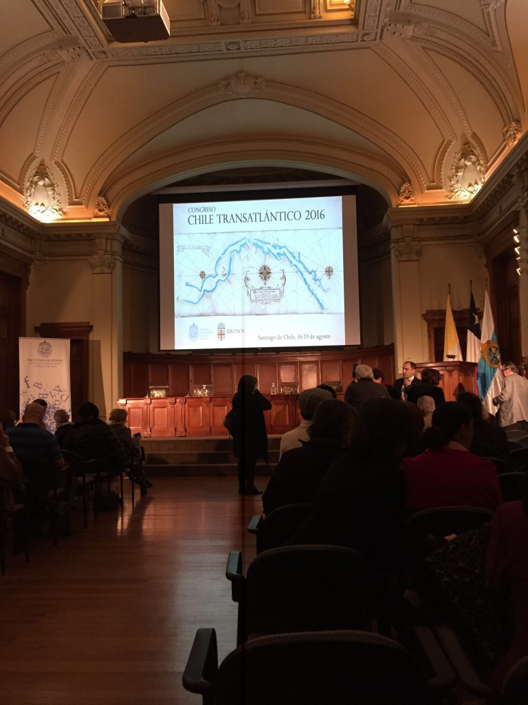 Chile transatlántico conference in Santiago August 2016