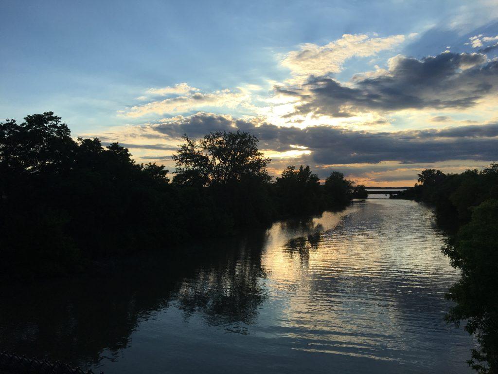 Onondaga lake and canal