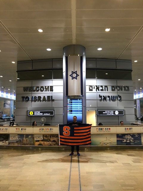 man at airport
