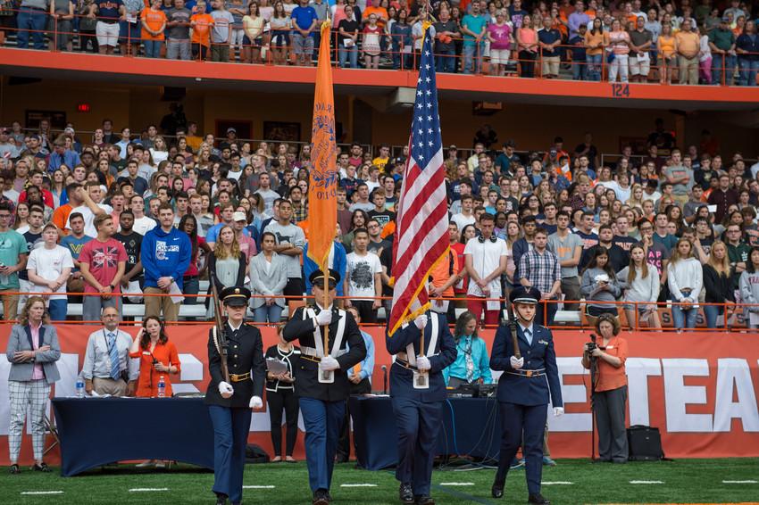 ROTC members