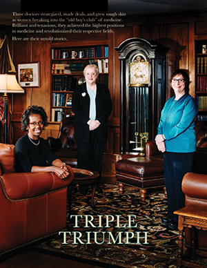 "book cover of ""Triple Triumph"""