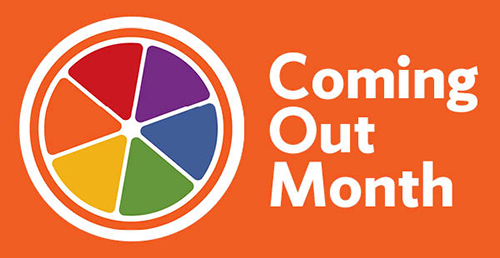 Coming Out Month banner