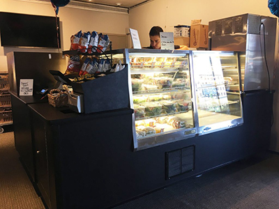 A new grab-and-go option is available at Syracuse Stage/Drama Theater Complex. (Photo by Catie Kobland)