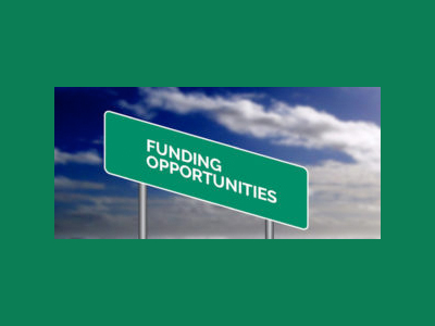funding opportunities sign