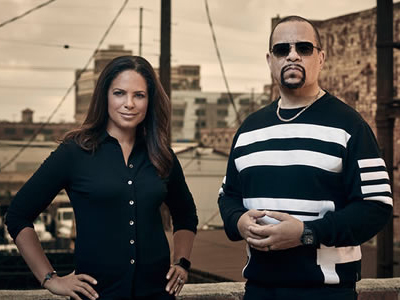 Soledad O'Brien and Ice-T
