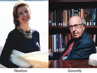 Cathryn Newton and Samuel Gorovitz