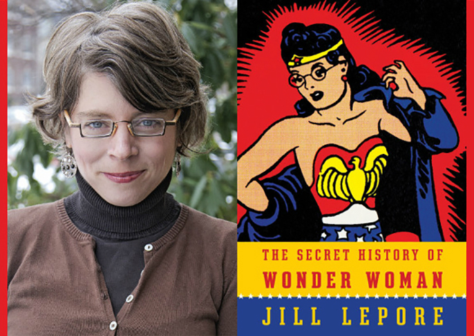 Jill Lepore and book cover