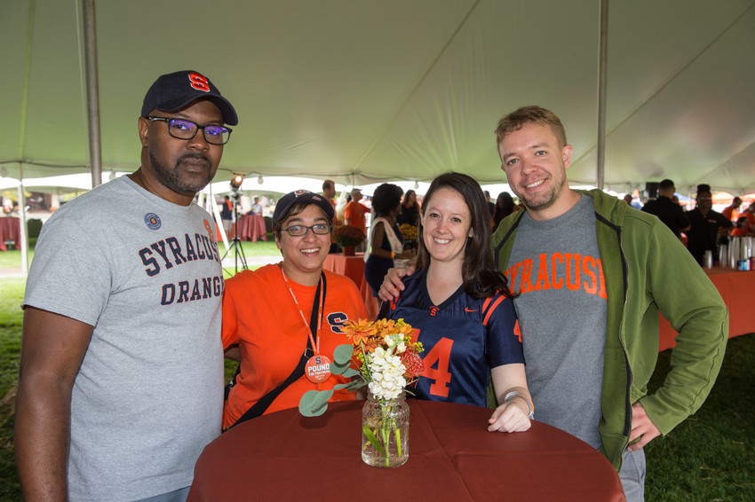 Orange Central Reunion Homecoming 2017 Tailgate