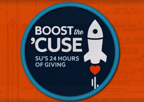 Boost the 'Cuse banner