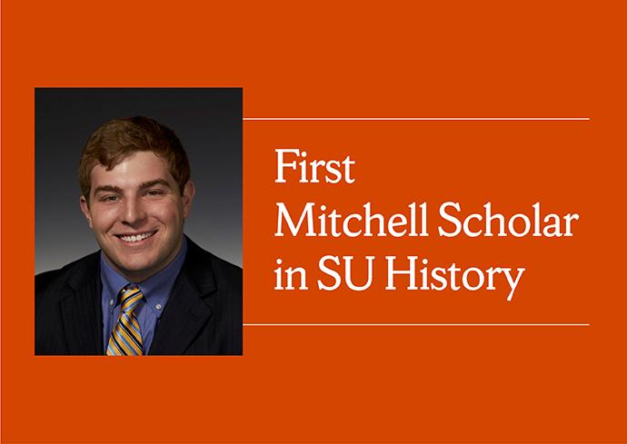 Mitchel Scholar Cameron MacPherson