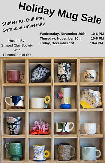 SCS Mug Sale poster