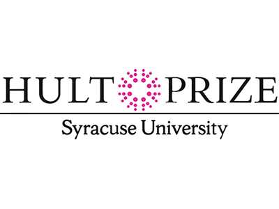 Hult Prize Syracuse University with stylized star in middle