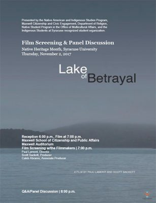 Lake of Betrayal poster
