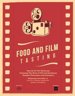 Film Tasting poster
